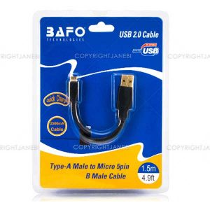 USB2.0 AM to Micro 1.5m 1FC